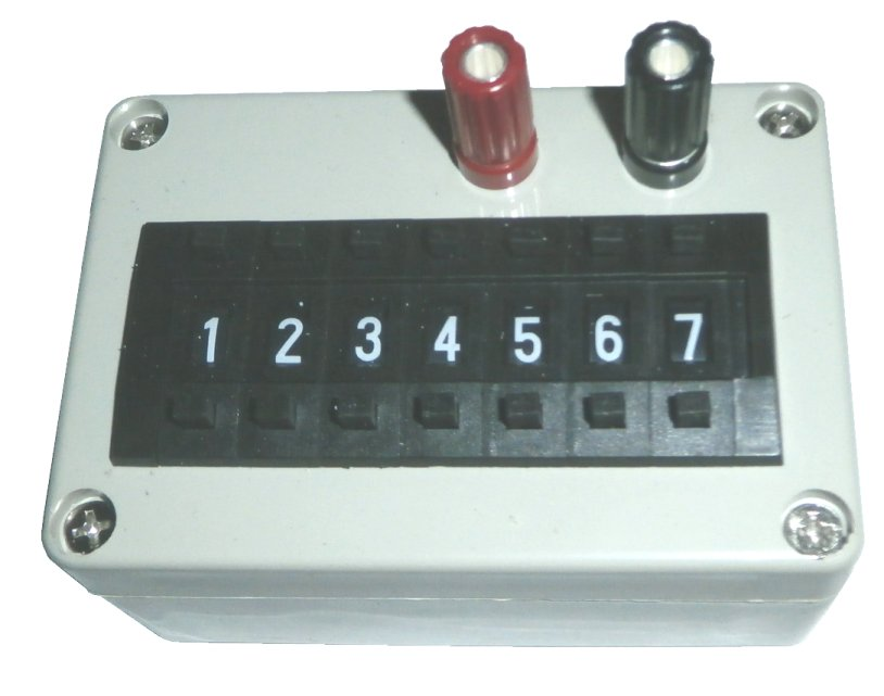 RDB101 Resistance Decade Box - 1 - 9,999,999 Ohms